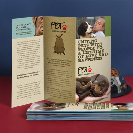 z fold brochure printing standard and custom sizes uprinting